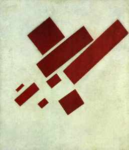 Suprematism Eight Rectangles - Malevich